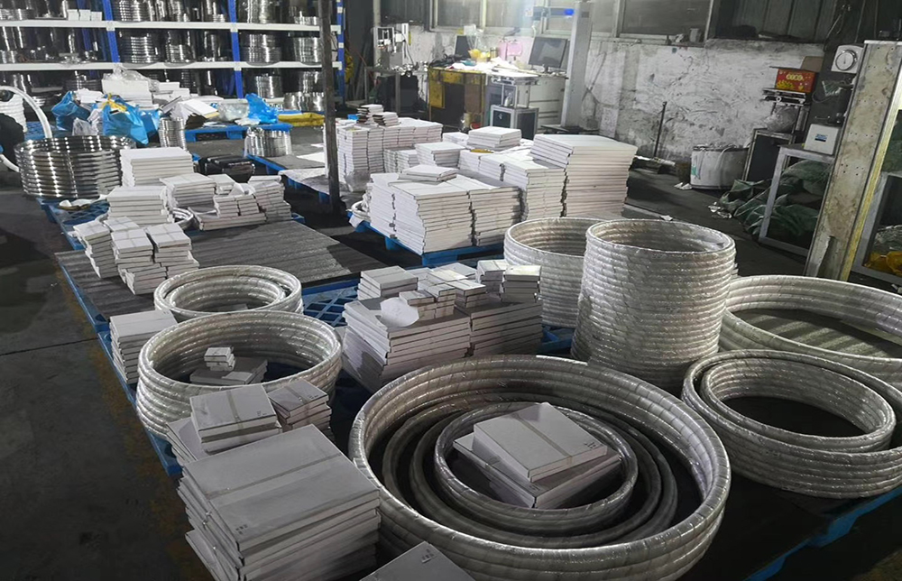 Ring joint gasket inventory
