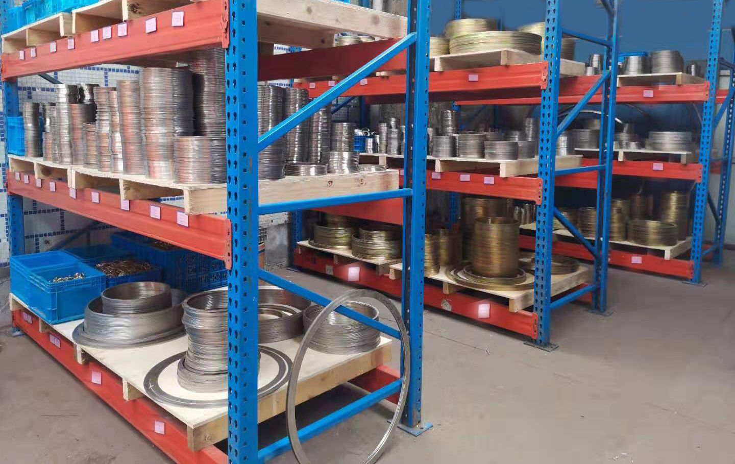 Organize the warehouse of [Metal Wound Gasket Inner and Outer Ring]