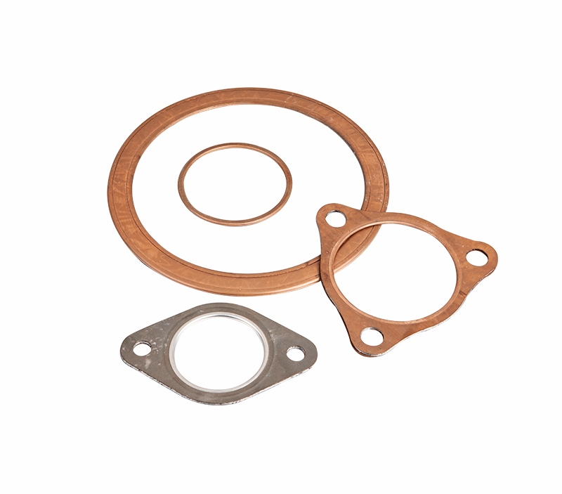 The metal shell protects the packing and is resistant to pressure, temperature and corrosion